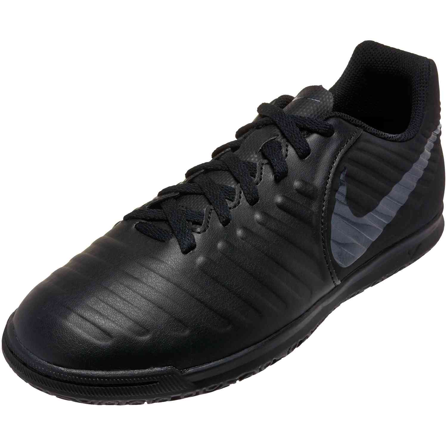 f7994e38b74 Nike Tiempo LegendX 7 Club IC - Youth - Black Black - SoccerPro