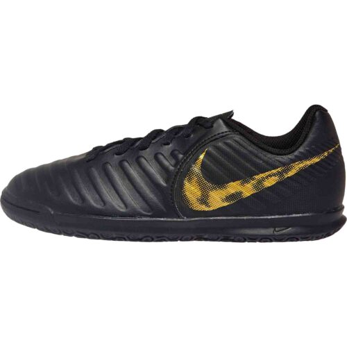 Kids Nike Tiempo Legend 7 Club IC – Black Lux