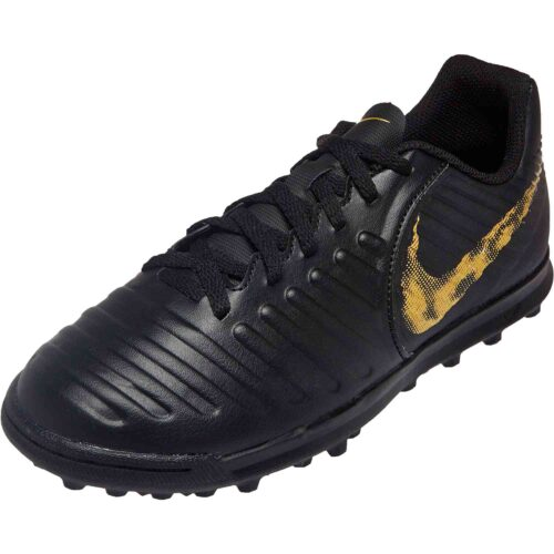 Kids Nike Tiempo Legend 7 Club TF – Black Lux