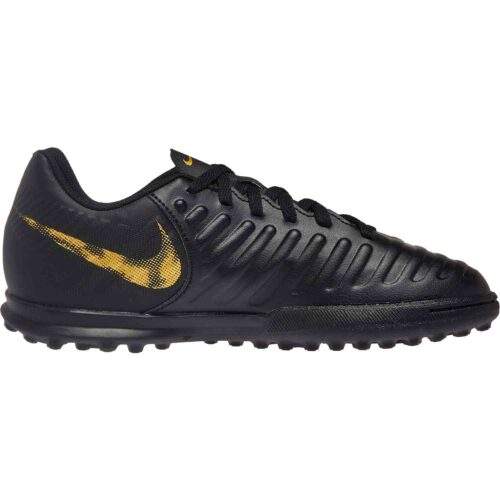 Kids Nike Tiempo Legend 7 Club TF – Black Lux