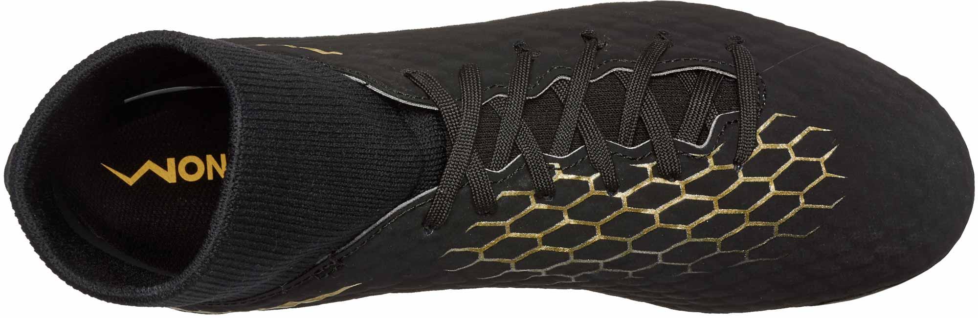 8c6ddf8337f5d Nike Hypervenom Phantom III Academy DF FG - Black/Metallic Vivid ...