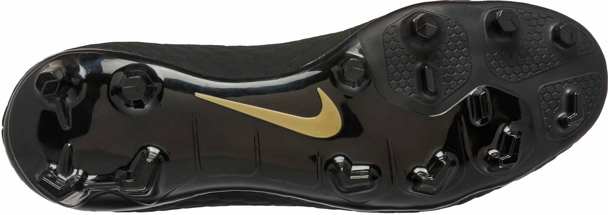 ba31582725a Nike Hypervenom Phantom III Academy DF FG – Black Metallic Vivid Gold
