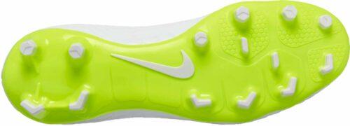 Nike Hypervenom Phantom III Academy DF FG – White/Metallic Cool Grey/Volt