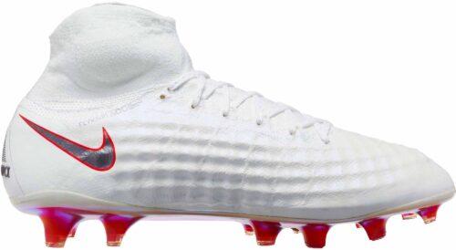 Nike Magista Obra II Elite DF FG – White/Metallic Cool Grey