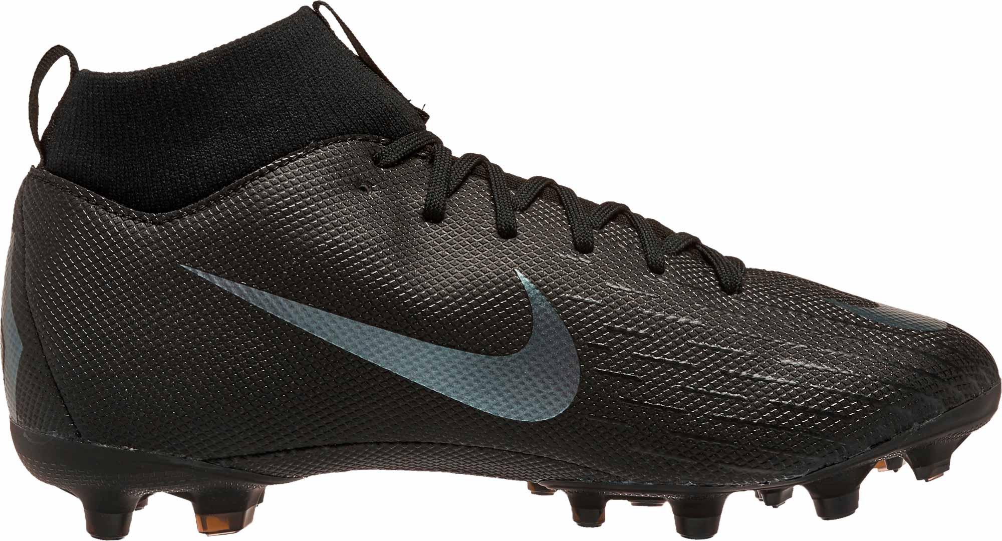 uk availability 4dc20 53cdb Nike Mercurial Superfly 6 Academy MG - Youth - Black/Black - SoccerPro