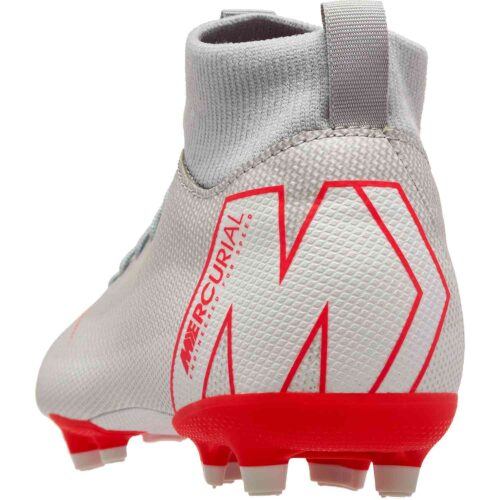 Youth Nike Mercurial Superfly 6 Academy MG – Wolf Grey/Light Crimson/Pure Platinum