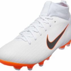 Nike Mercurial Superfly 6 Academy MG - Youth - White Metallic Cool  Grey Total Orange - SoccerPro b9a2f635b