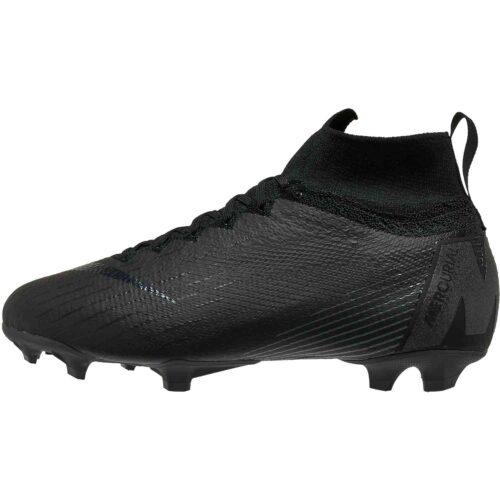 Nike Mercurial Superfly 6 Elite FG – Youth – Black/Black