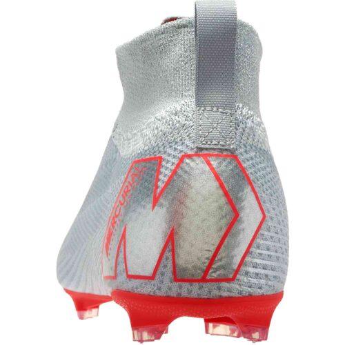 Nike Mercurial Superfly 6 Elite FG – Youth – Wolf Grey/Light Crimson/Pure Platinum