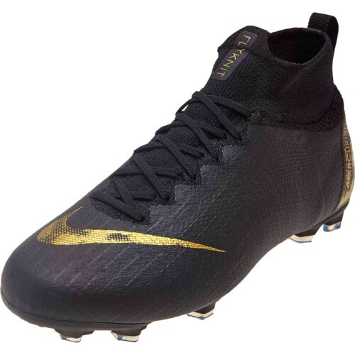 Kids Nike Mercurial Superfly 6 Elite FG – Black Lux