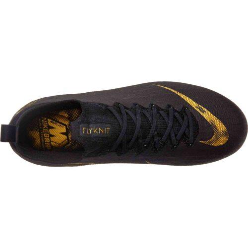 Kids Nike Mercurial Superfly 6 Elite FG – Black Lux