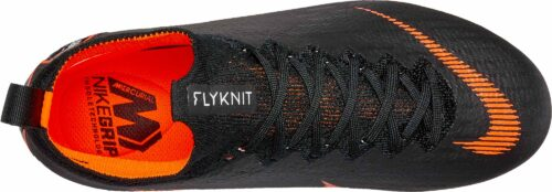 Nike Kids Superfly 6 Elite FG – Black/Total Orange