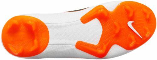 Nike Kids Mercurial Superfly 6 Elite FG – White/Total Orange