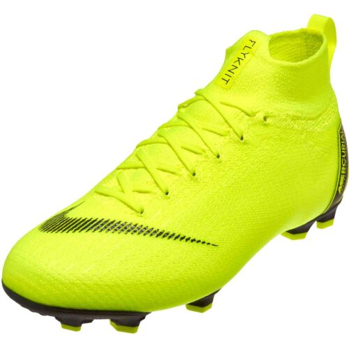 Nike Mercurial Superfly 6 Elite FG – Youth – Volt/Black