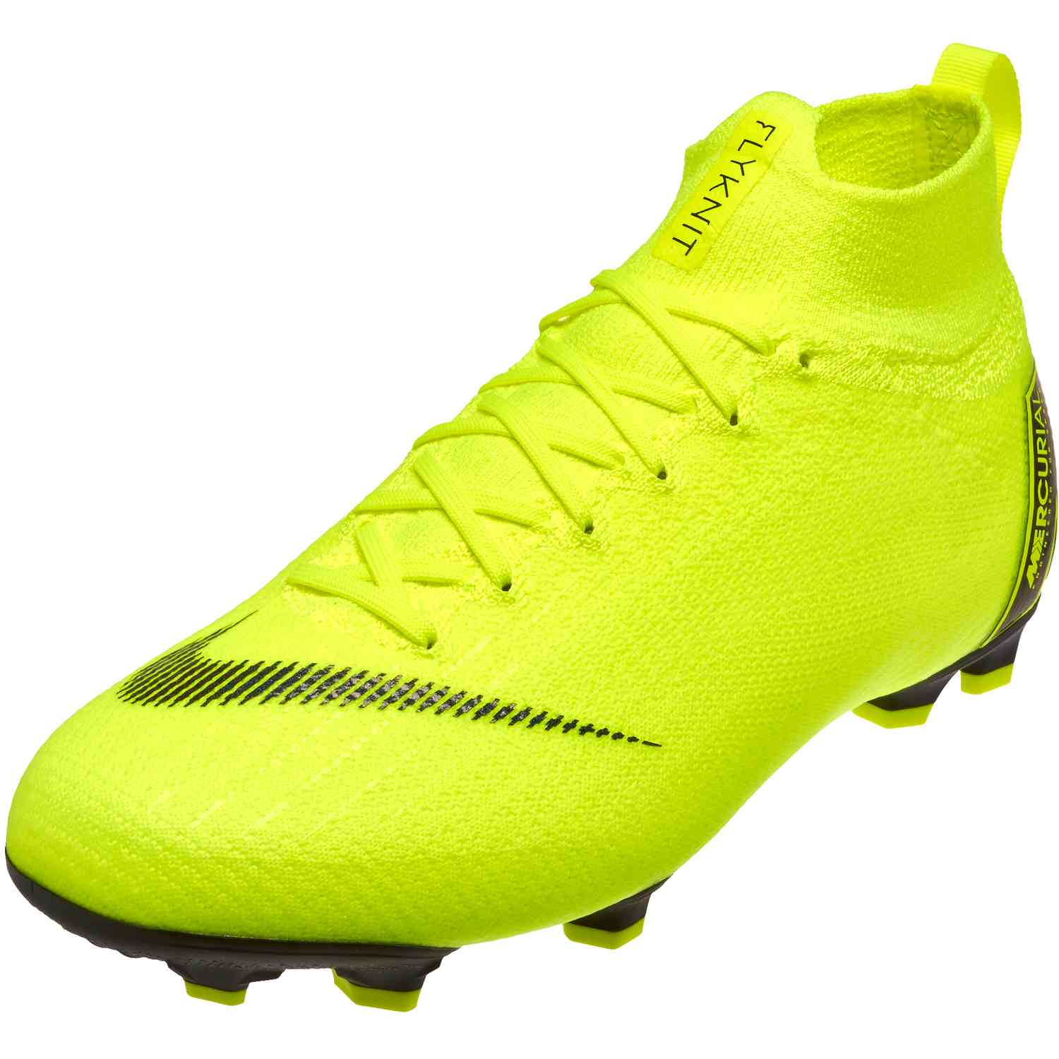 Nike Mercurial Superfly 6 Elite FG – Youth – VoltBlack
