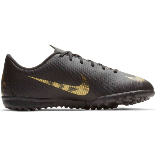 Kids Nike Mercurial Vapor 12 Academy TF – Black Lux
