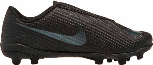 Nike Mercurial Vapor 12 Club MG (velcro) – Youth – Black/Black
