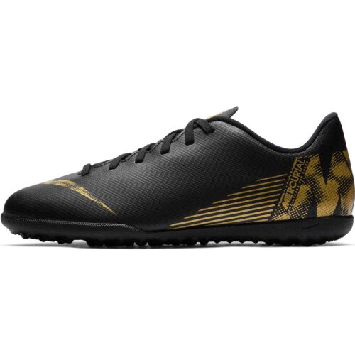 Kids Nike Mercurial Vapor 12 Club TF – Black Lux