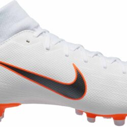Nike Superfly 6 Academy MG bianca Metallic Cool Total grigio Total Cool arancia   7488af