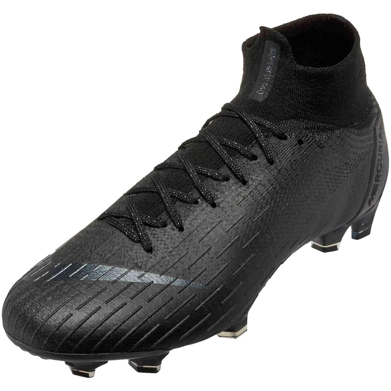 16c12ca7e Nike Superfly 6 Elite FG - Black Black - SoccerPro
