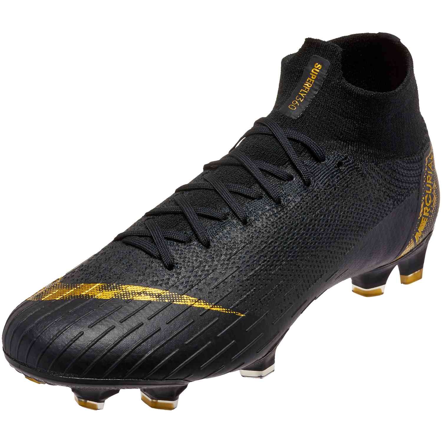 size 40 7f6f7 8e7c2 Nike Mercurial Superfly 6 Elite FG – Black Lux