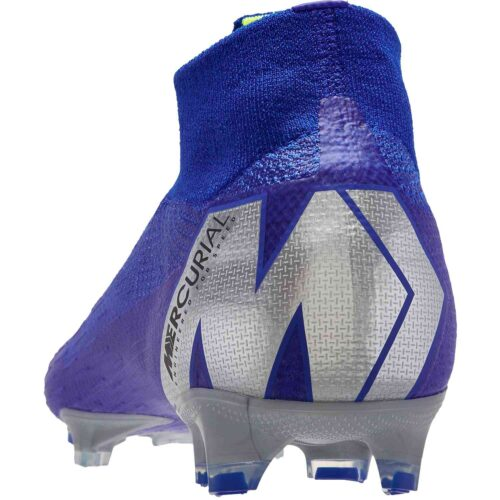 Nike Mercurial Superfly 6 Elite FG – Racer Blue/Metallic Silver/Black