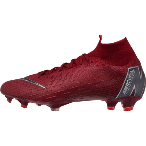 Nike Superfly 6 Elite FG – Team Red/Metallic Dark Grey/Bright Crimson