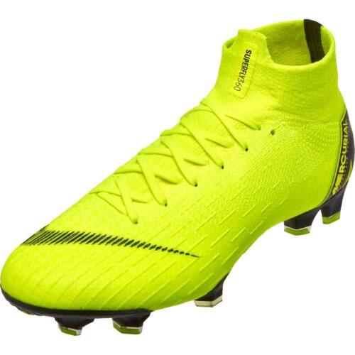 58a6b533426 Nike Mercurial Superfly 6 Elite FG – Volt Black