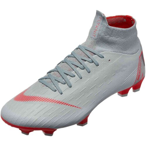 Nike Superfly 6 Pro FG – Wolf Grey/Light Crimson/Pure Platinum