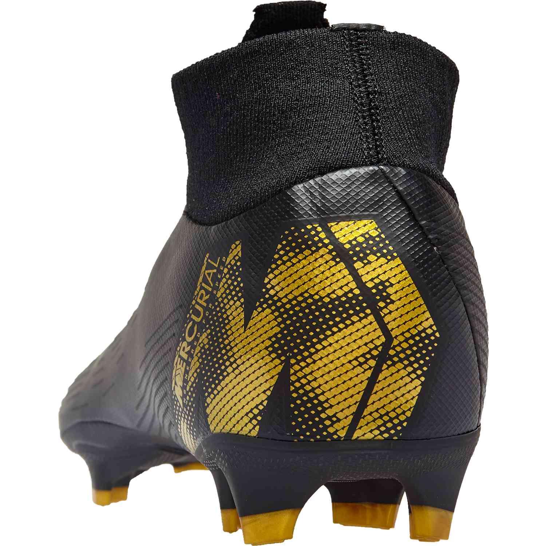 buy online 5320a bac63 Nike Mercurial Superfly 6 Pro FG - Black Lux - SoccerPro