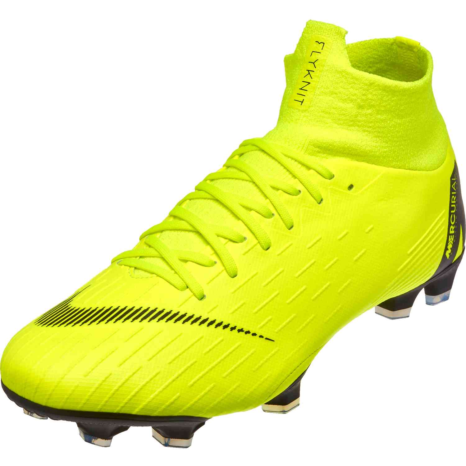 new york ed8ba c8b0a Nike Mercurial Superfly 6 Pro FG - Volt/Black - SoccerPro