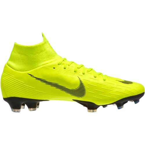 Nike Mercurial Superfly 6 Pro FG – Volt/Black
