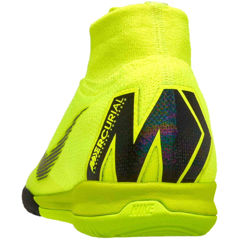 more photos 45d43 35c50 Nike Mercurial SuperflyX 6 Elite IC – Volt Black