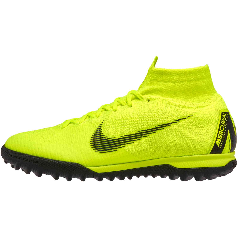promo code 468de 85ea3 Nike Mercurial SuperflyX 6 Elite TF - Volt/Black - SoccerPro