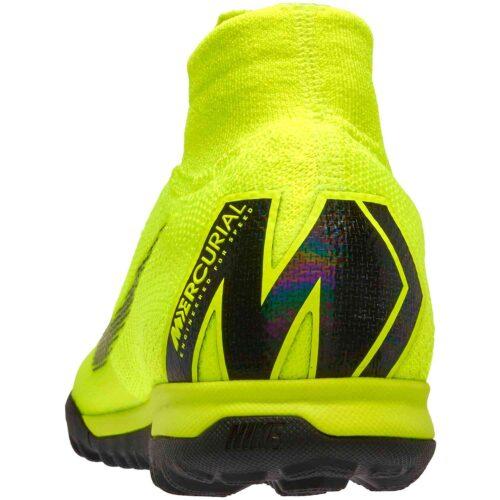 Nike Mercurial SuperflyX 6 Elite TF – Volt/Black