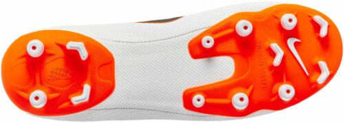 Nike Mercurial Vapor 12 Academy MG – White/Metallic Cool Grey/Total Orange