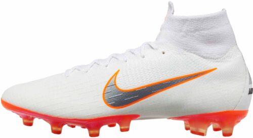 Nike Mercurial Superfly 6 Elite AG – Pro – White/Total Orange