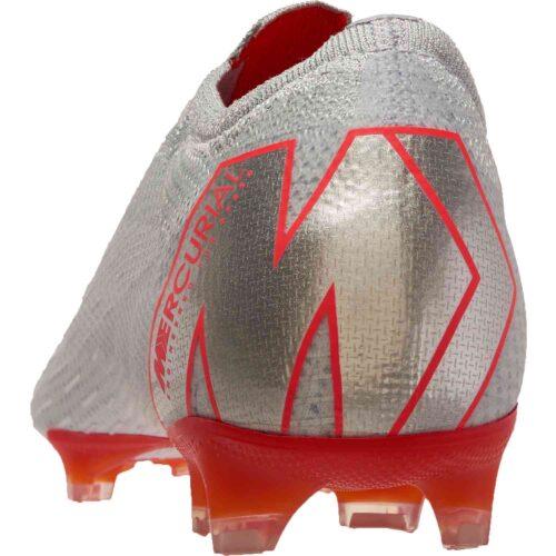 Nike Vapor 12 Elite FG – Wolf Grey/Light Crimson/Pure Platinum