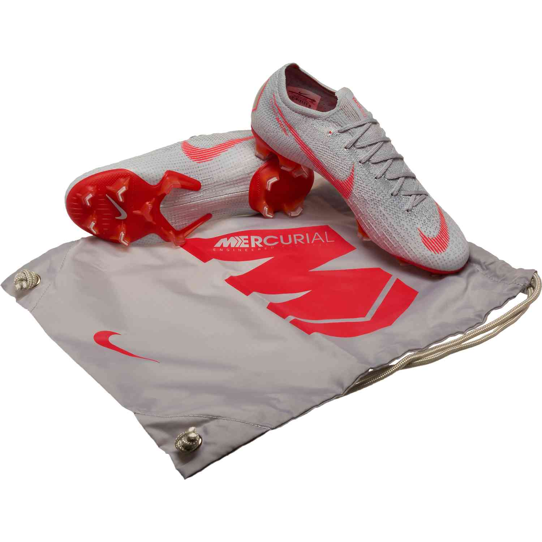 60de674c6be Nike Vapor 12 Elite FG - Wolf Grey Light Crimson Pure Platinum ...