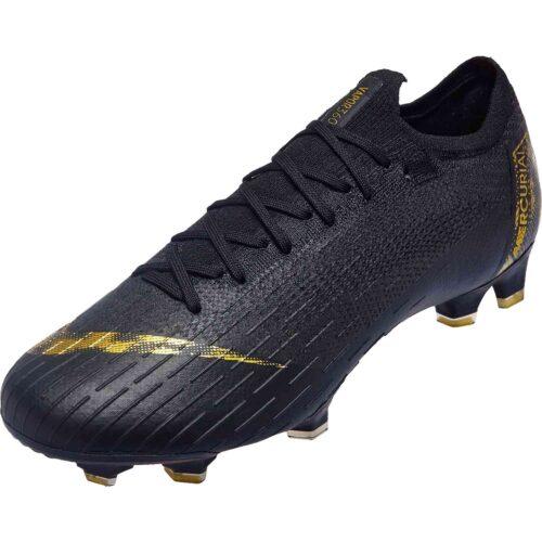 ff85b178bac8 Nike Mercurial Vapor 12 Elite FG – Black Lux