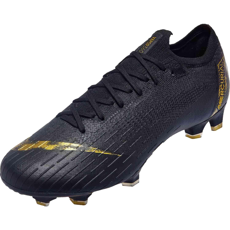 Football Schuhe Nike VAPOR 12 ELITE FG Schwarz ah7380 077
