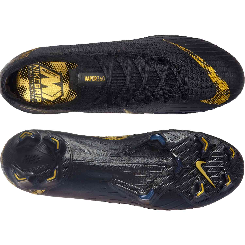31569c03df4 Nike Mercurial Vapor 12 Elite FG - Black Lux - SoccerPro