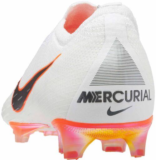 Nike Mercurial Vapor 12 Elite FG – White/Total Orange