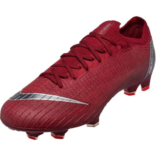 Nike Mercurial Vapor 12 Elite FG – Team Red/Metallic Dark Grey/Bright Crimson