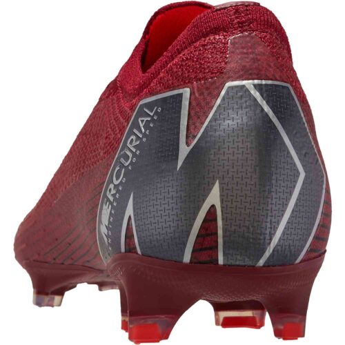 Nike Mercurial Vapor 12 Elite FG – Team Red/Metallic Dark Grey/Bright Crimson