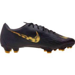 b7a1ef162 Nike Mercurial Vapor 12 Pro FG - Black Lux - SoccerPro