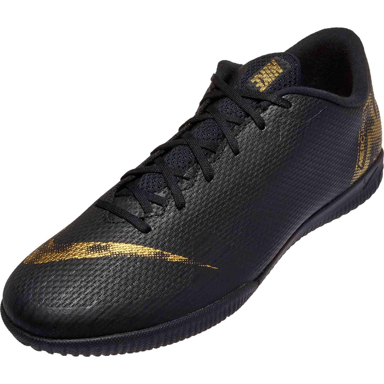 online store 69c3c 1d747 Nike Mercurial Vapor 12 Academy IC – Black Lux