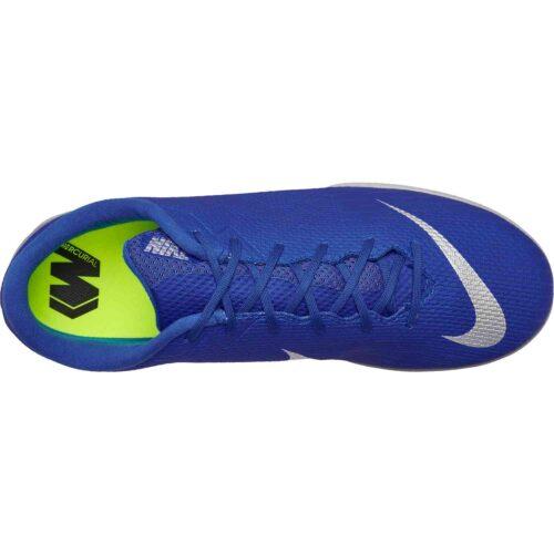 Nike Mercurial VaporX 12 Academy IC – Racer Blue/Metallic Silver/Black/Volt