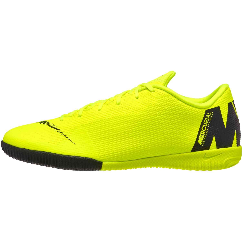 new styles d0acb 39639 Nike Mercurial VaporX 12 Academy IC – Volt Black