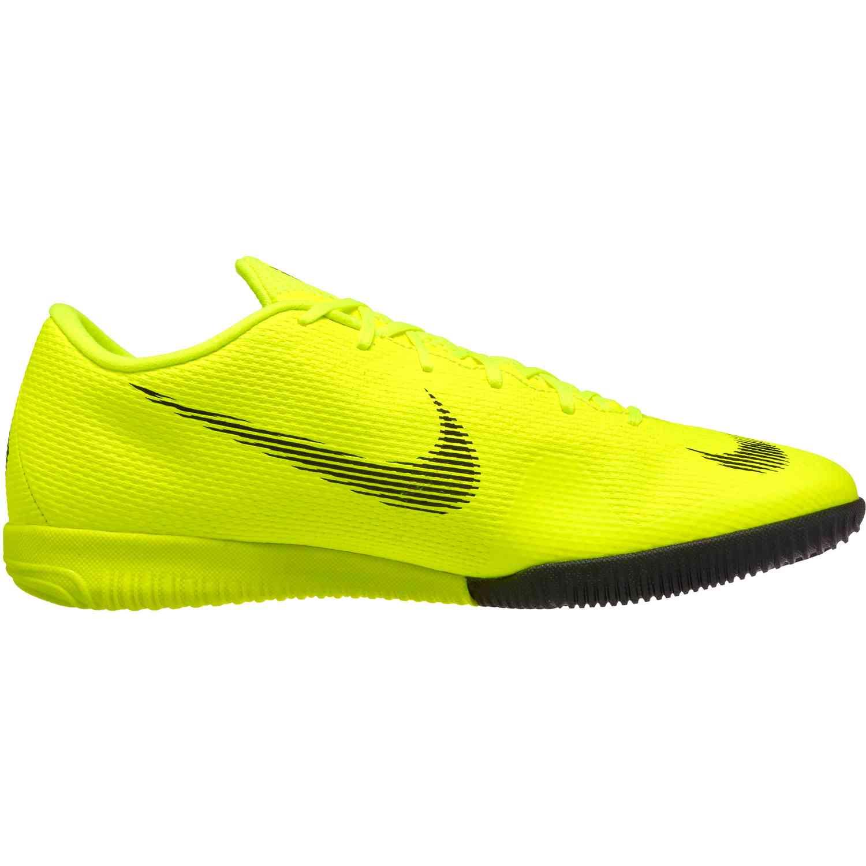 new styles 4ddf1 0ecca Nike Mercurial VaporX 12 Academy IC – Volt Black